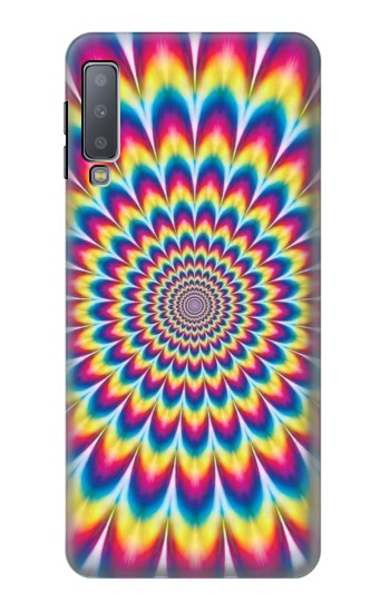 Printed Colorful Psychedelic Samsung Galaxy A7 (2018) Case