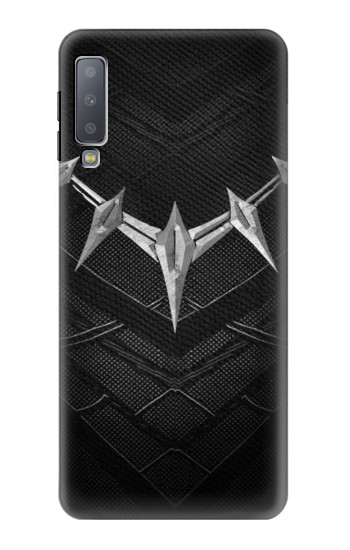 Printed Black Panther Inspired Costume Necklace Samsung Galaxy A7 (2018) Case