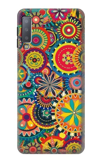 Printed Colorful Pattern Samsung Galaxy A7 (2018) Case