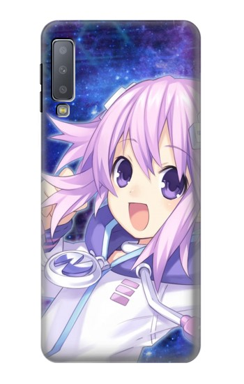 Printed Hyperdimension Neptunia Samsung Galaxy A7 (2018) Case