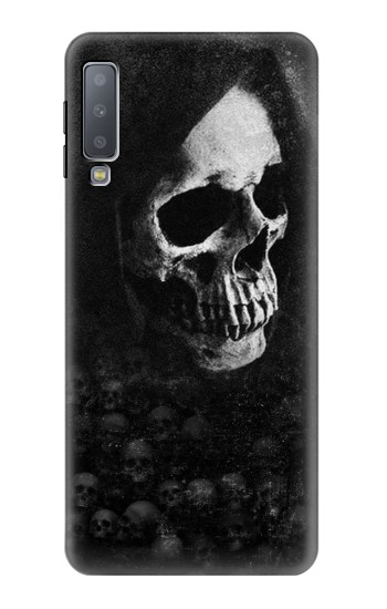 Printed Death Skull Samsung Galaxy A7 (2018) Case