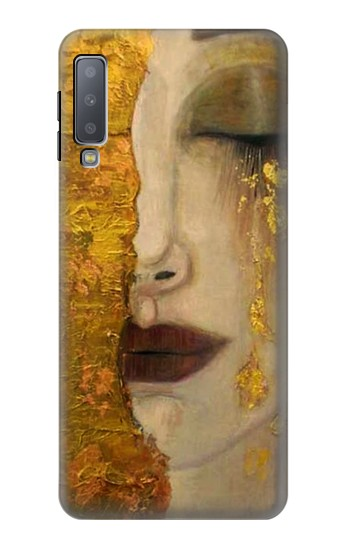 Printed Gustav Klimt Golden Tears Samsung Galaxy A7 (2018) Case