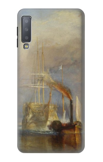 Printed Joseph Mallord William Turner The Fighting Temeraire Samsung Galaxy A7 (2018) Case