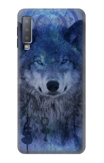 Printed Wolf Dream Catcher Samsung Galaxy A7 (2018) Case