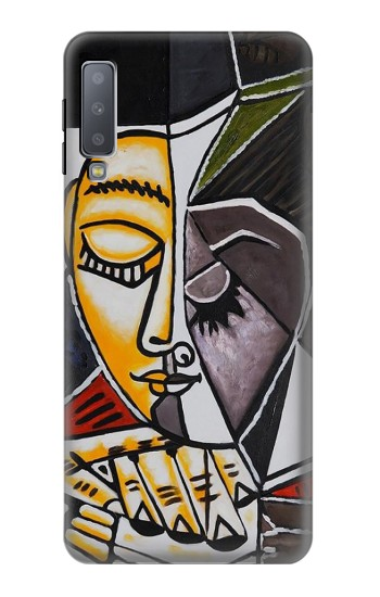 Printed Pablo Picasso Painting Samsung Galaxy A7 (2018) Case