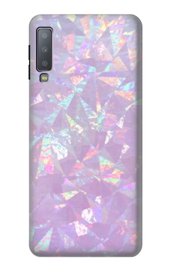 Printed Iridescent Holographic Photo Printed Samsung Galaxy A7 (2018) Case