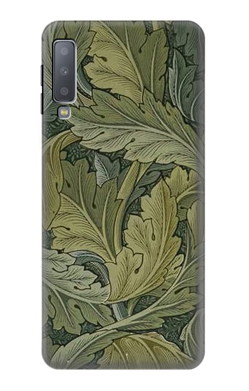 Printed William Morris Acanthus Leaves Samsung Galaxy A7 (2018) Case