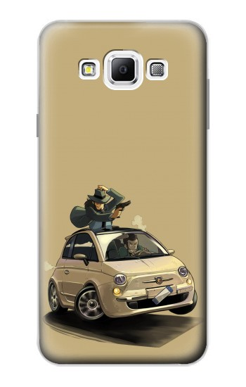 Printed Lupin The Third Samsung Galaxy A7, A7 Duos Case