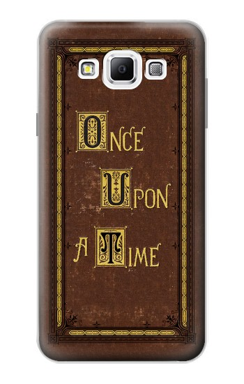 Printed Once Upon a Time Book Cover Samsung Galaxy A7, A7 Duos Case