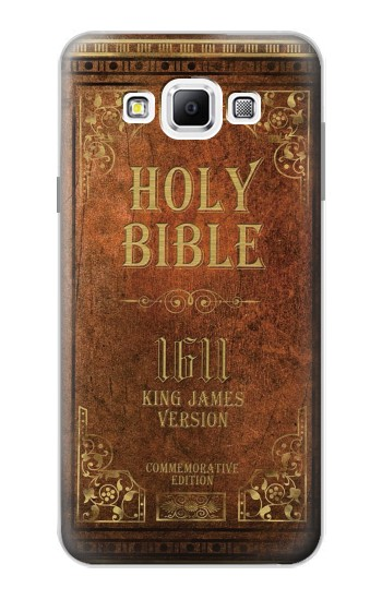 Printed Holy Bible 1611 King James Version Samsung Galaxy A7, A7 Duos Case
