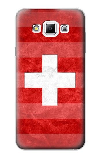 Printed Switzerland Football Flag Samsung Galaxy A7, A7 Duos Case