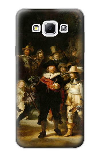 Printed The Night Watch Rembrandt Samsung Galaxy A7, A7 Duos Case
