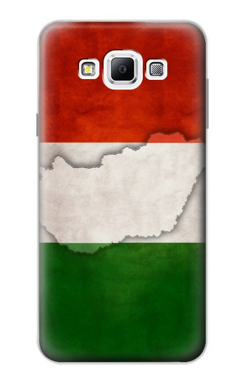 Printed Hungary Flag Samsung Galaxy A7, A7 Duos Case