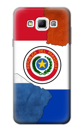 Printed Paraguay Flag Samsung Galaxy A7, A7 Duos Case