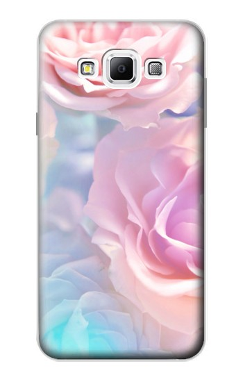 Printed Vintage Pastel Flowers Samsung Galaxy A7, A7 Duos Case