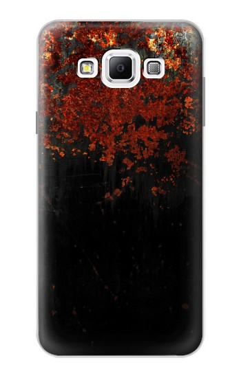Printed Rusted Metal Texture Samsung Galaxy A7, A7 Duos Case