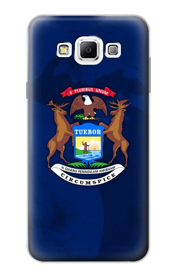 Printed State of Michigan Flag Samsung Galaxy A7, A7 Duos Case