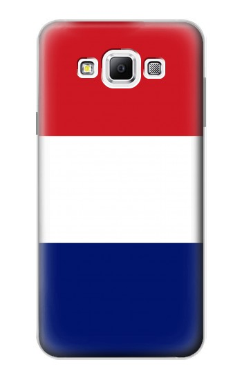 Printed Flag of France and the Netherlands Samsung Galaxy A7, A7 Duos Case