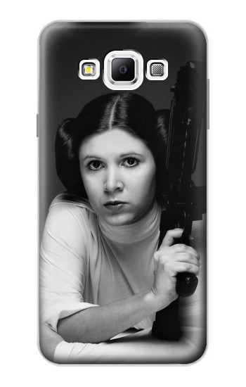 Printed Princess Leia Carrie Fisher Samsung Galaxy A7, A7 Duos Case
