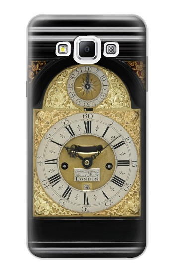Printed Antique Bracket Clock Samsung Galaxy A7, A7 Duos Case