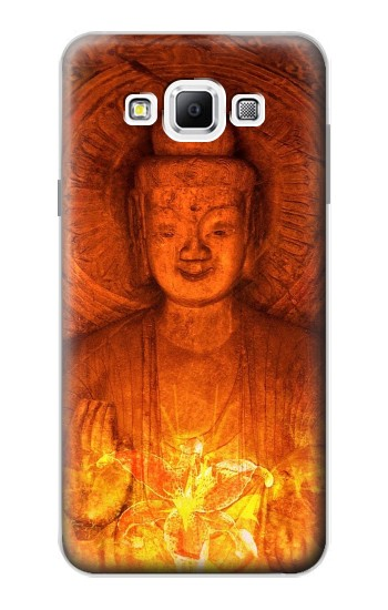Printed Buddha Spiritual Holy Lights Samsung Galaxy A7, A7 Duos Case