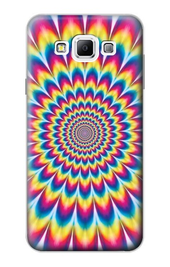 Printed Colorful Psychedelic Samsung Galaxy A7, A7 Duos Case