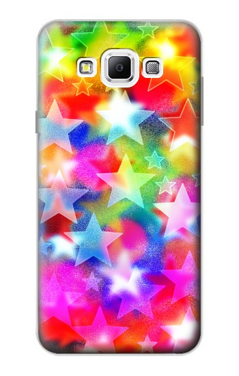 Printed Colourful Disco Star Samsung Galaxy A7, A7 Duos Case