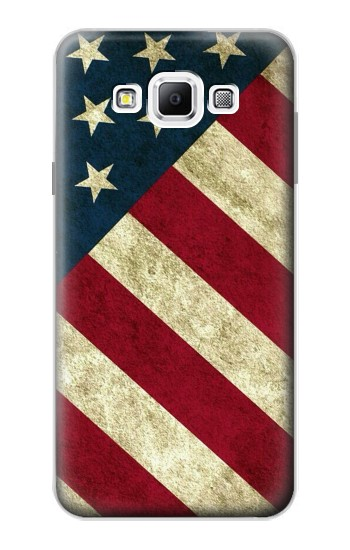 Printed US National Flag Samsung Galaxy A7, A7 Duos Case