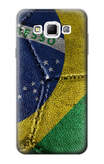 Printed Brazil Flag Vintage Football 2018 Samsung Galaxy A7, A7 Duos Case