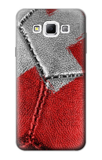 Printed Switzerland Flag Vintage Football 2018 Samsung Galaxy A7, A7 Duos Case