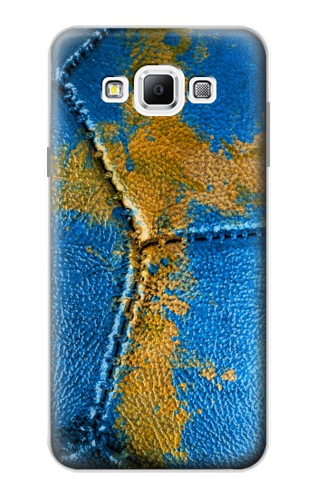 Printed Sweden Flag Vintage Football 2018 Samsung Galaxy A7, A7 Duos Case