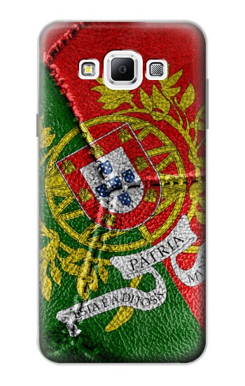 Printed Portugal Flag Vintage Football 2018 Samsung Galaxy A7, A7 Duos Case