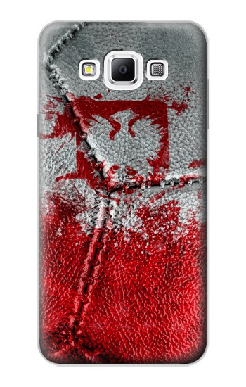 Printed Poland Flag Vintage Football 2018 Samsung Galaxy A7, A7 Duos Case