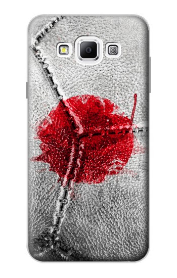 Printed Japan Flag Vintage Football 2018 Samsung Galaxy A7, A7 Duos Case
