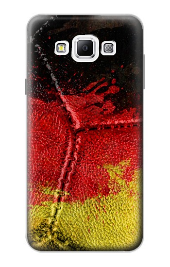 Printed Germany Flag Vintage Football 2018 Samsung Galaxy A7, A7 Duos Case