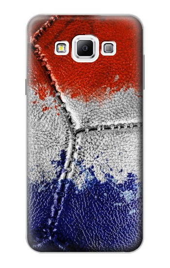 Printed France Flag Vintage Football 2018 Samsung Galaxy A7, A7 Duos Case