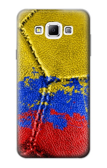 Printed Colombia Flag Vintage Football 2018 Samsung Galaxy A7, A7 Duos Case