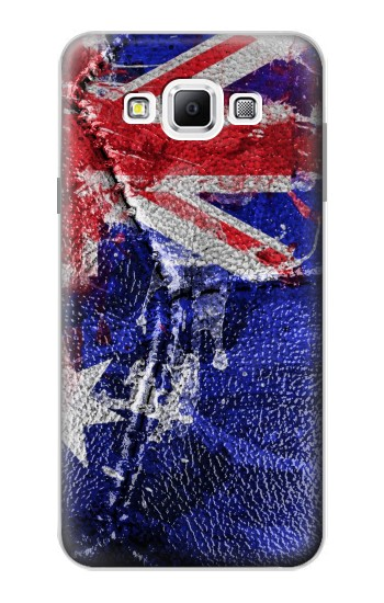 Printed Australia Flag Vintage Football 2018 Samsung Galaxy A7, A7 Duos Case
