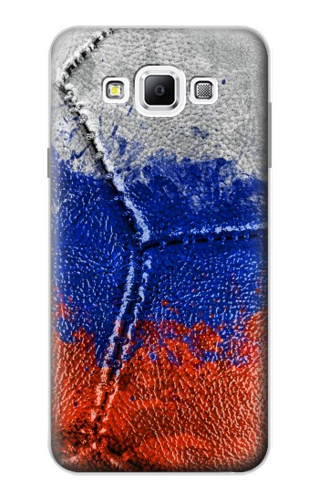 Printed Russia Flag Vintage Football 2018 Samsung Galaxy A7, A7 Duos Case