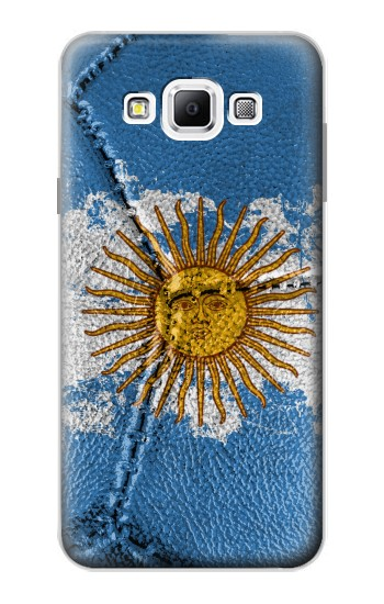 Printed Argentina Flag Vintage Football 2018 Samsung Galaxy A7, A7 Duos Case