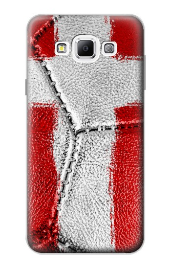 Printed Denmark Flag Vintage Football 2018 Samsung Galaxy A7, A7 Duos Case