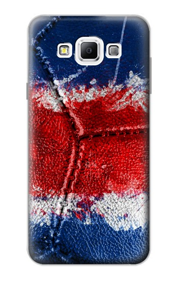 Printed Costa Rica Flag Vintage Football 2018 Samsung Galaxy A7, A7 Duos Case
