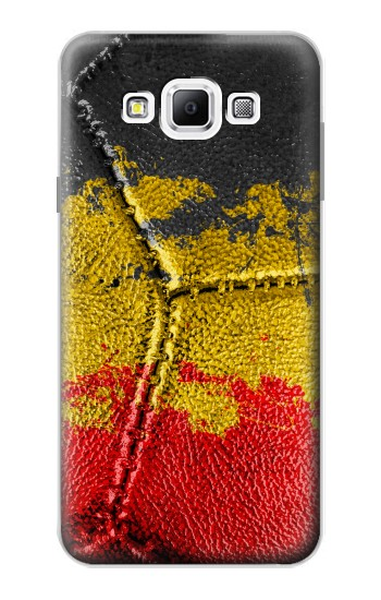 Printed Belgium Flag Vintage Football 2018 Samsung Galaxy A7, A7 Duos Case