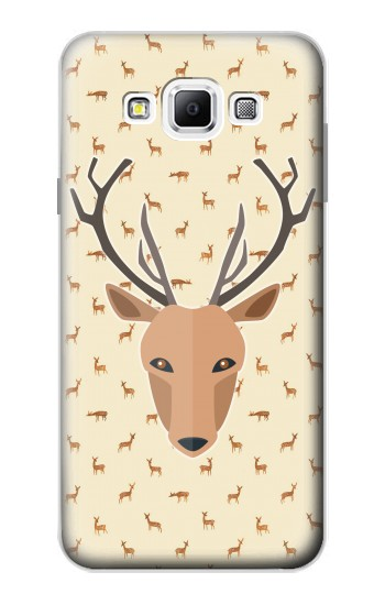 Printed Deer Pattern Samsung Galaxy A7, A7 Duos Case