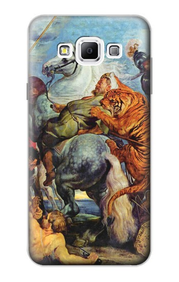 Printed Peter Paul Rubens Tiger und Lowenjagd Samsung Galaxy A7, A7 Duos Case