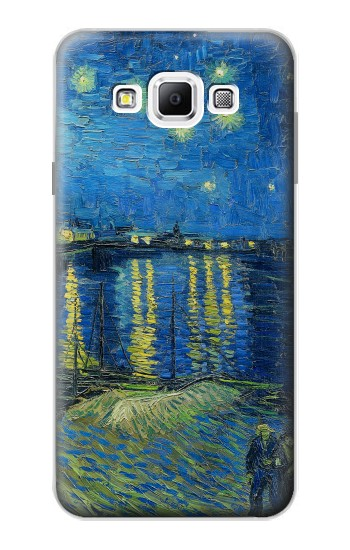 Printed Van Gogh Starry Night Over Rhone Samsung Galaxy A7, A7 Duos Case