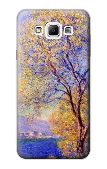 Printed Claude Monet Antibes Seen from the Salis Gardens Samsung Galaxy A7, A7 Duos Case