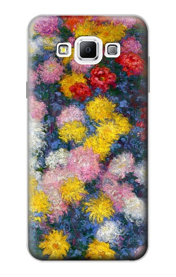 Printed Claude Monet Chrysanthemums Samsung Galaxy A7, A7 Duos Case
