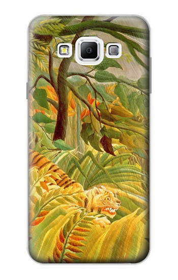 Printed Henri Rousseau Tiger in a Tropical Storm Samsung Galaxy A7, A7 Duos Case