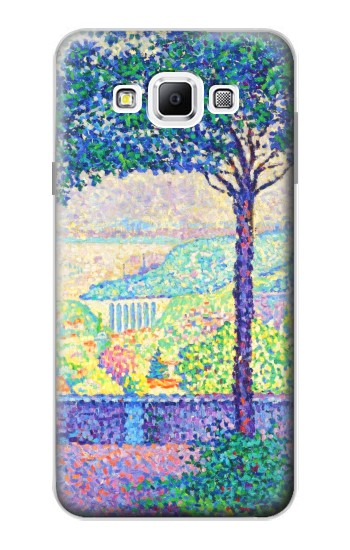 Printed Paul Signac Terrace of Meudon Samsung Galaxy A7, A7 Duos Case